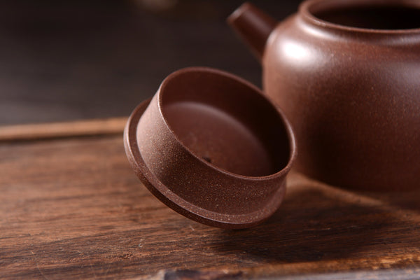 "Hei Jin Gang Clay ""De Zhong Hu"" Yixing Teapot * 140ml"