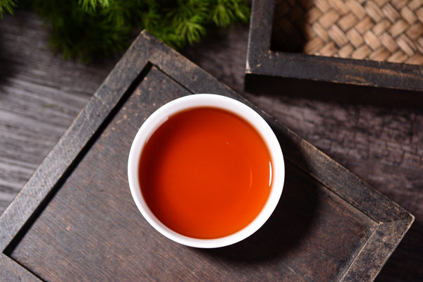 "2019 Yunnan Sourcing ""Year of the Pig Red Label"" Ripe Pu-erh Tea Cake"