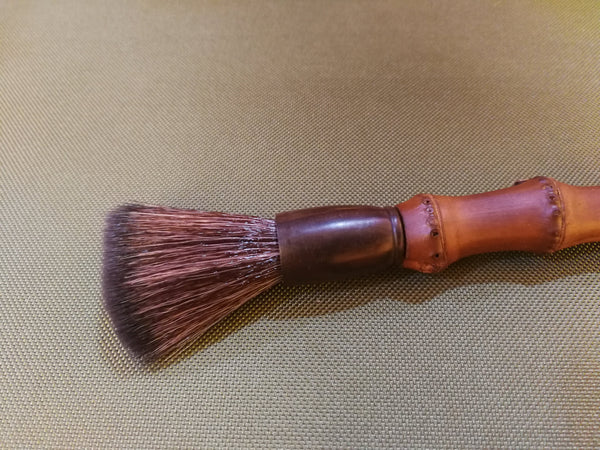 Rustic Knobby Bamboo Brush for Gong Fu Cha