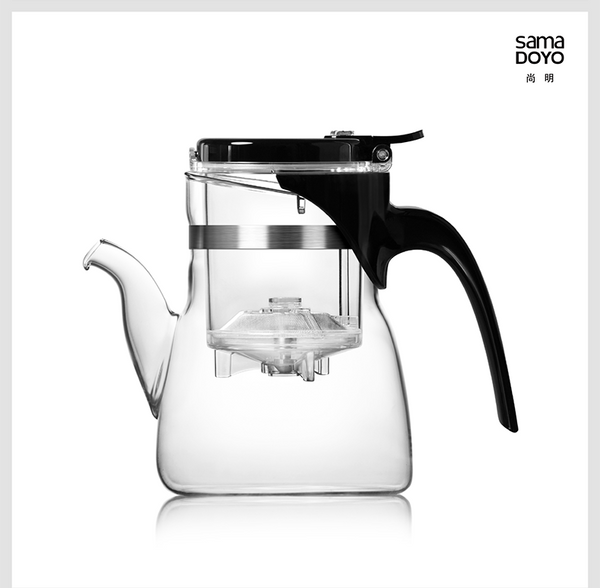 SAMA Easy Teapot for Gong Fu Tea Brewing * B-02 600ml