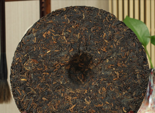 "2015 Menghai ""Elephant Mountain"" Ripe Pu-erh Tea Cake"