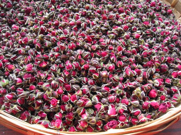 Yunnan Sun-Dried Wild Rose Buds from Wenshan