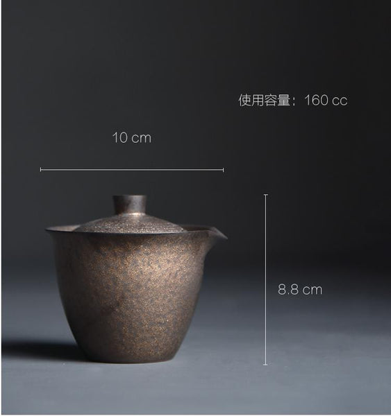 "Dragon Kiln Cu Tao Clay ""Easy Gaiwan"" 160ml"