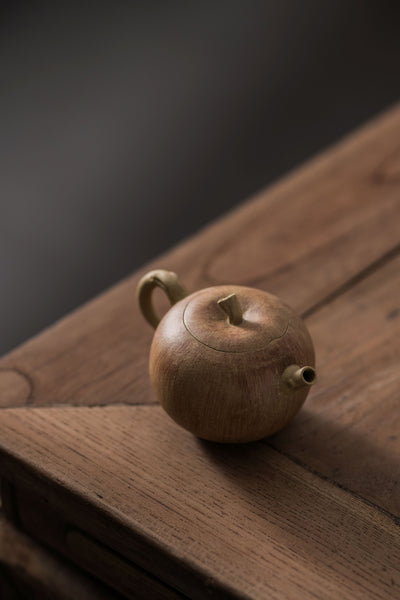 "Duan Ni Clay ""Apple"" Yixing Teapot"