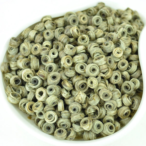 Jade Earrings * Superior Hand-Rolled White Tea