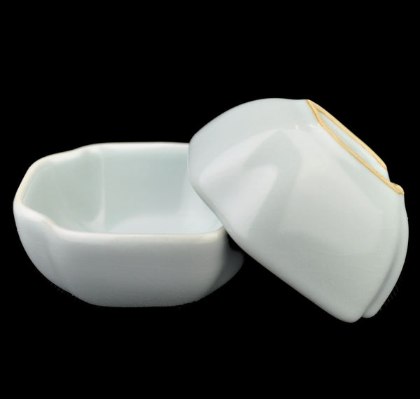 Ru Yao Celadon Square Cups * Set of 2 * 75ml
