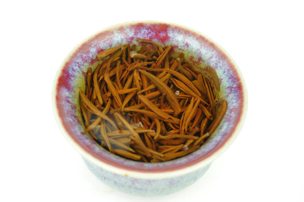 Mei Zhan Varietal Jin Jun Mei Black Tea from Tong Mu Village * Spring 2017 - Yunnan Sourcing Tea Shop