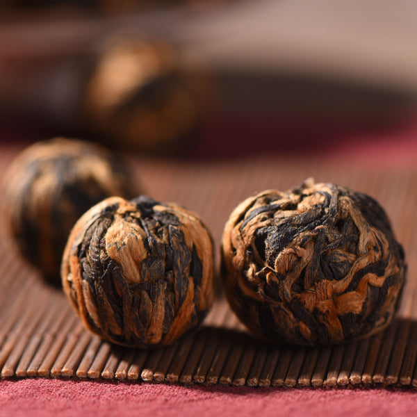 "Feng Qing Premium ""Black Gold Pearls"" Black Tea"