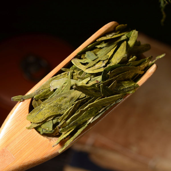 "Fancy Grade Dragon Well ""Long Jing"" Green Tea"