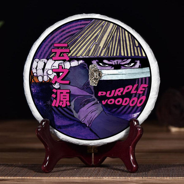 """Purple Voodoo"" Purple Black Tea Cake * Spring 2020"