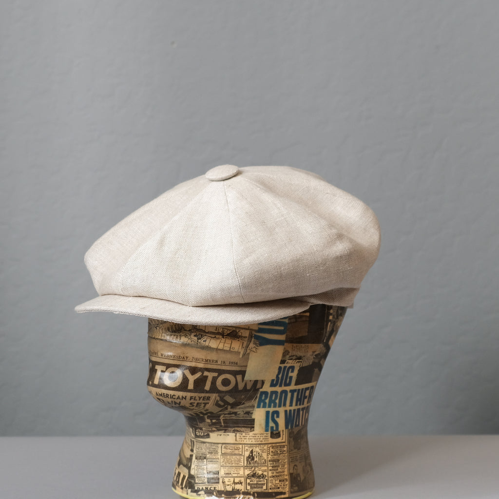 Lock & Co. Hatters Muirfield Linen Cap