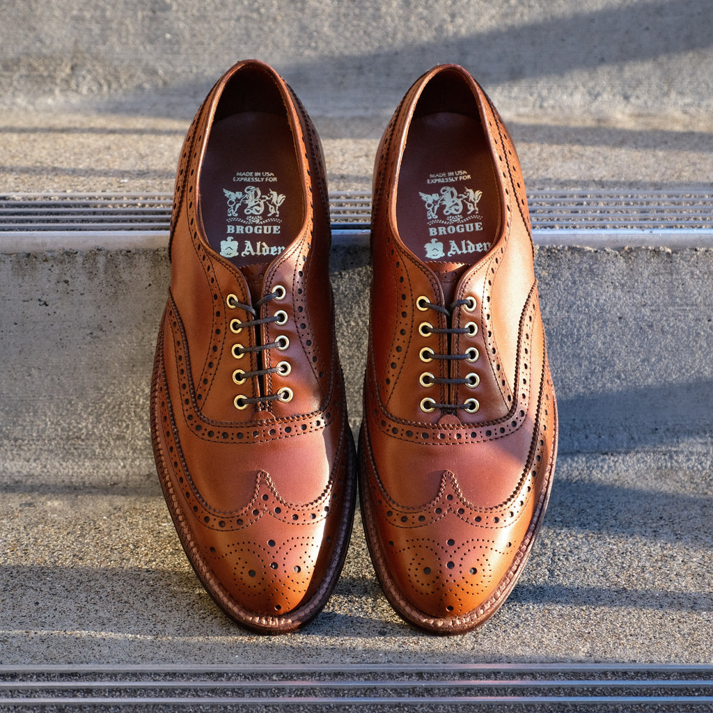 Alden x Brogue Frank Oxford