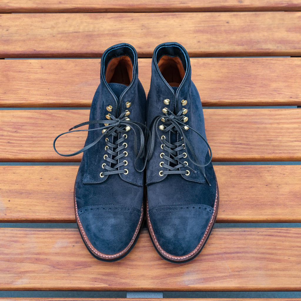 Alden x Brogue Indigo Valley Jumper Boot