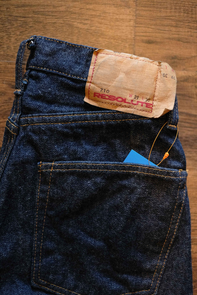 Resolute Slim Straight One Washed Denim - 710