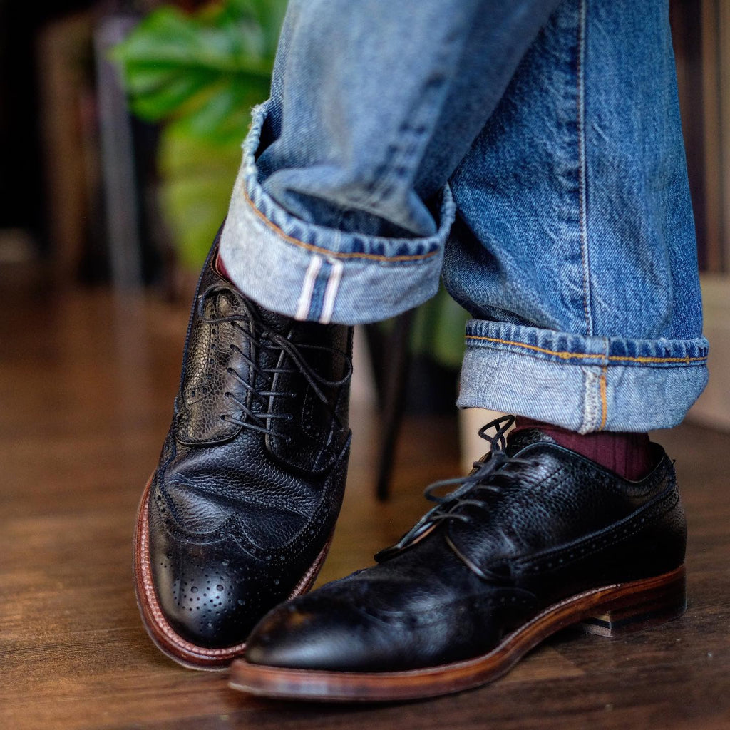 Alden x Brogue Atom Blucher