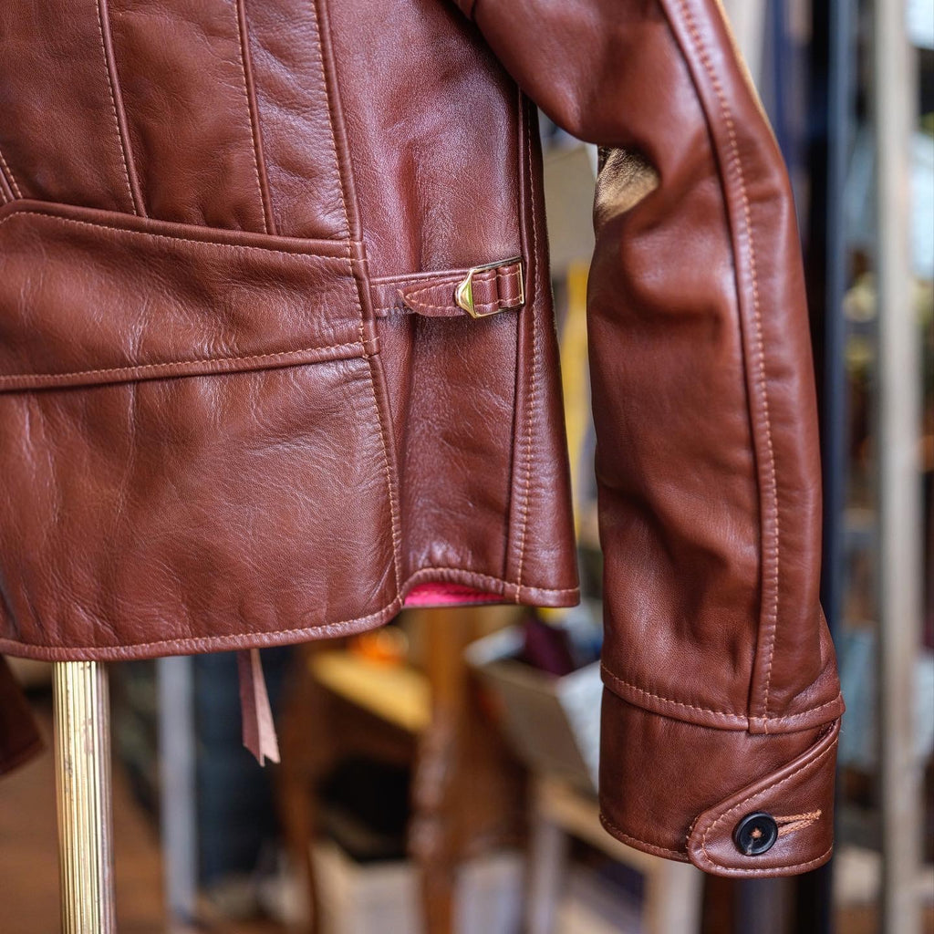 Aero Leather Hooch Hauler Jacket