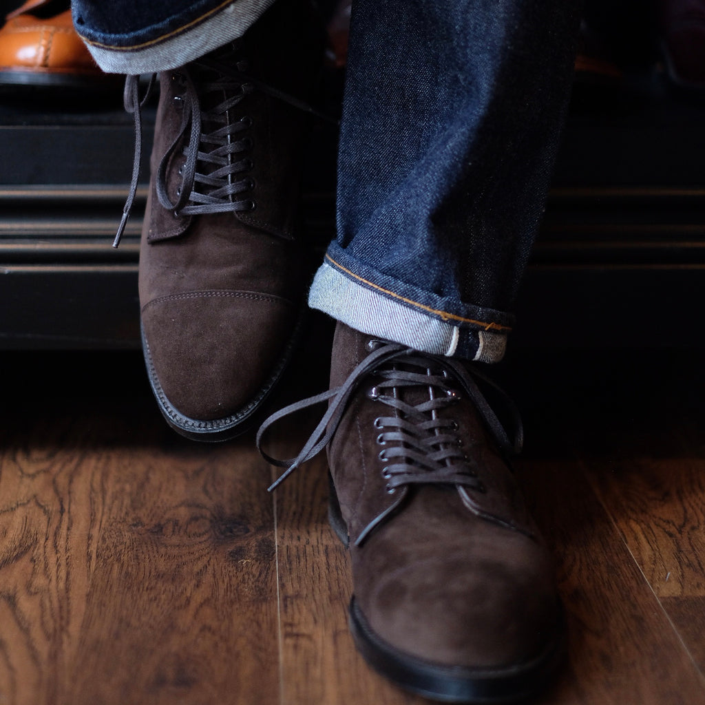 Alden x Brogue Clint Boot