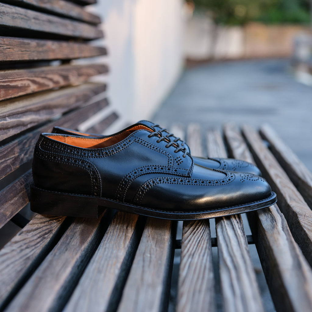 Alden x Brogue Classic Short Wing Blucher