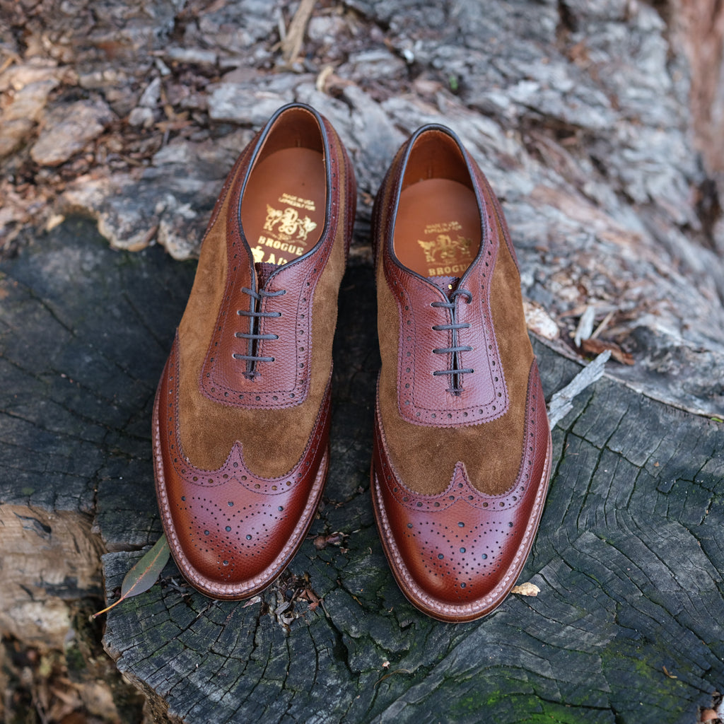 Alden x Brogue Spectator Shoe