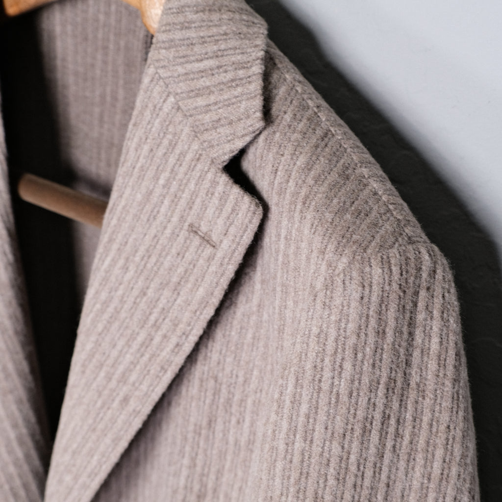 Ring Jacket Grey Wool Blazer