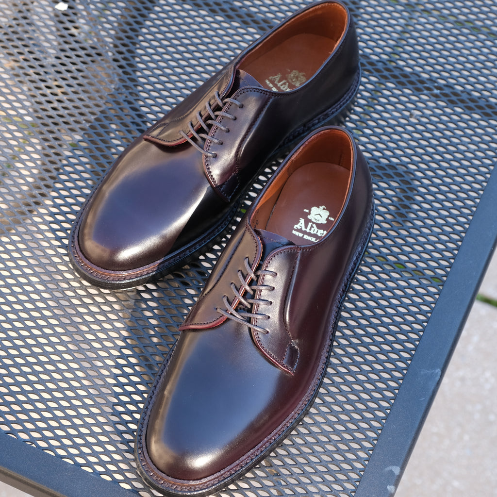 Alden Plain Toe Blucher 990