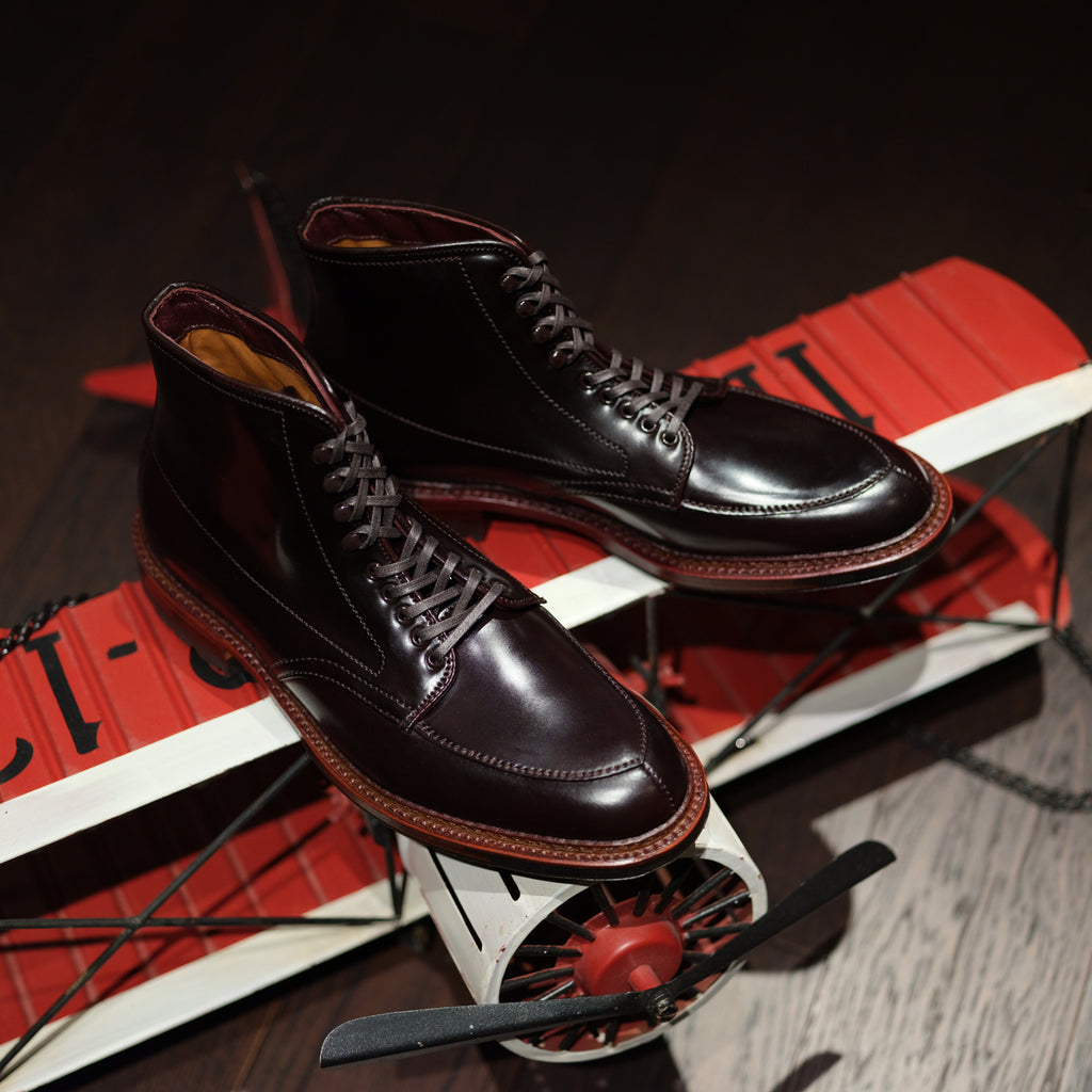 Alden x Brogue V-Tip Boot