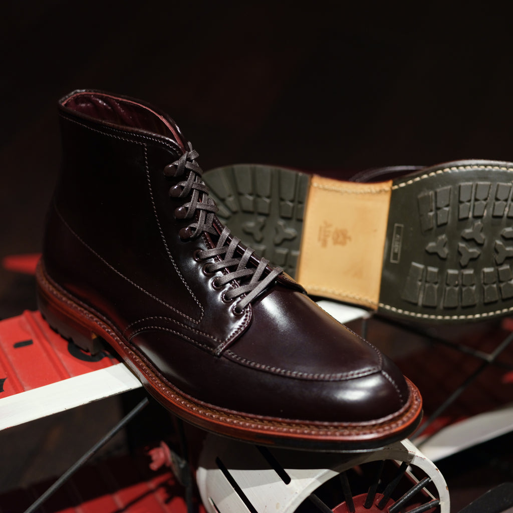 Alden x Brogue V-Tip Boot (Color 8)
