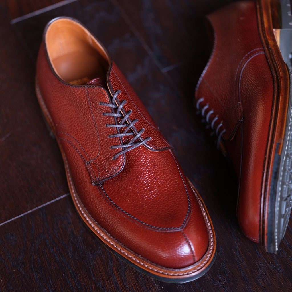 Alden x Brogue V-Tip Blucher (Scotch Grain)
