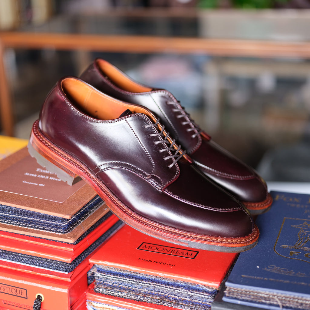 Alden x Brogue V-Tip Blucher (Color 8)