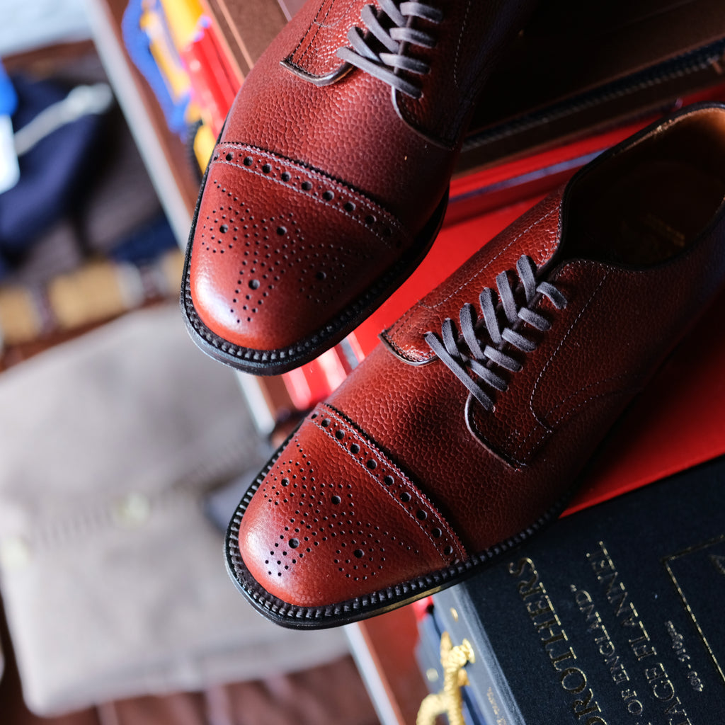 Alden x Brogue Cigar Club Blucher 2.0