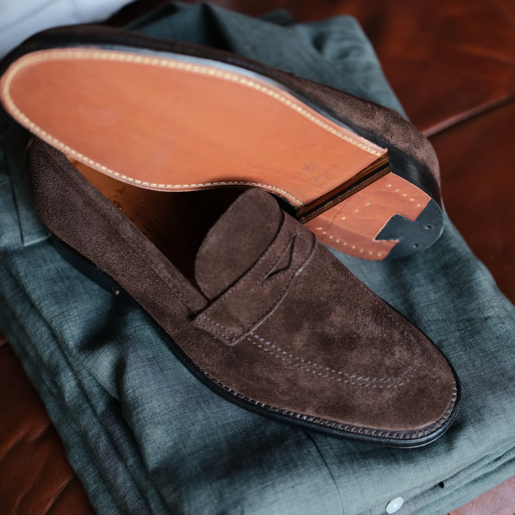 Alden x Brogue Mason Loafer (Mocha)