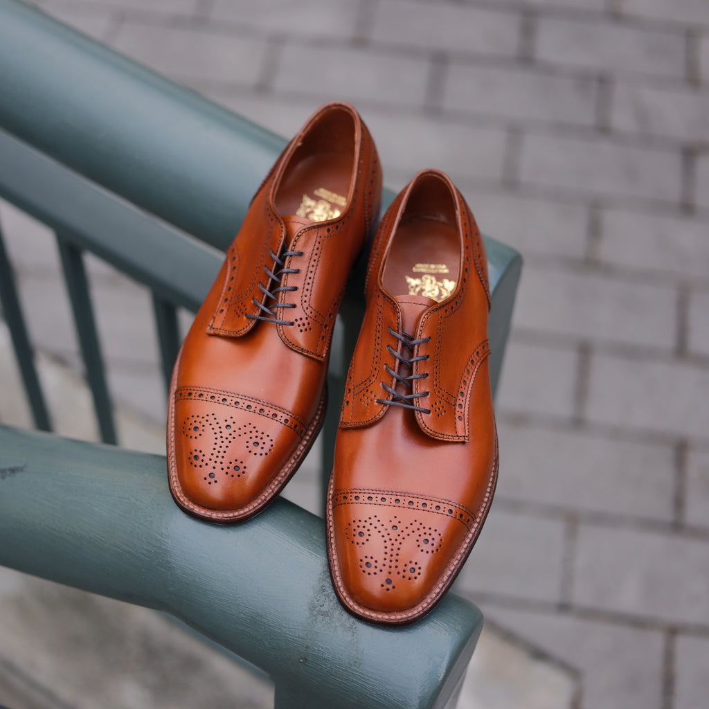 Alden x Brogue Morgan Hill Blucher