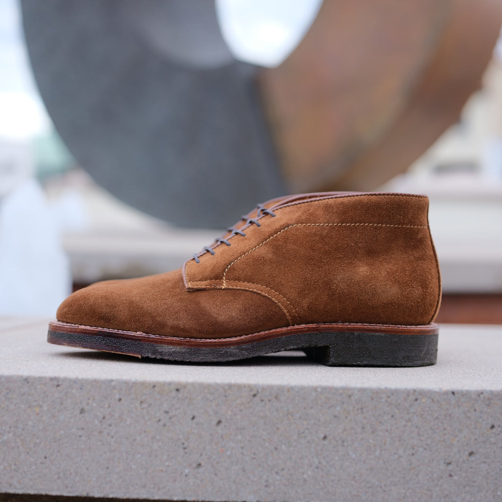 Alden x Brogue Smith Chukka Boot