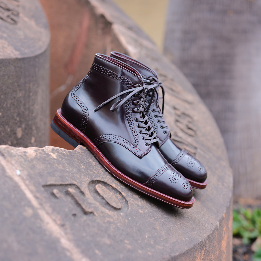 Alden x Brogue Venice Boot (Balance Due)