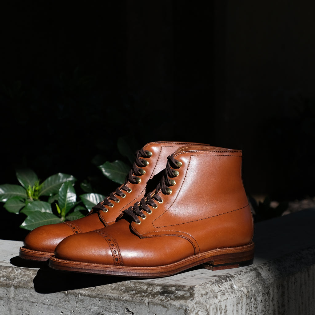 Alden x Brogue Brasson Boot