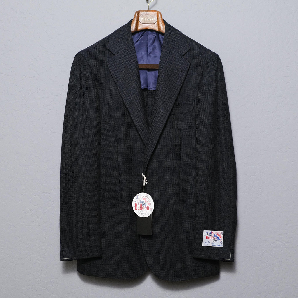 Ring Jacket Navy Balloon Jacket