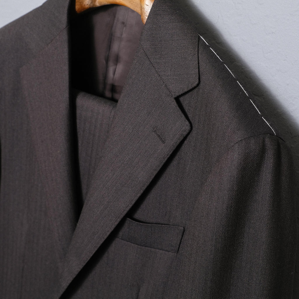Ring Jacket Dark Charcoal Calm Twist Suit