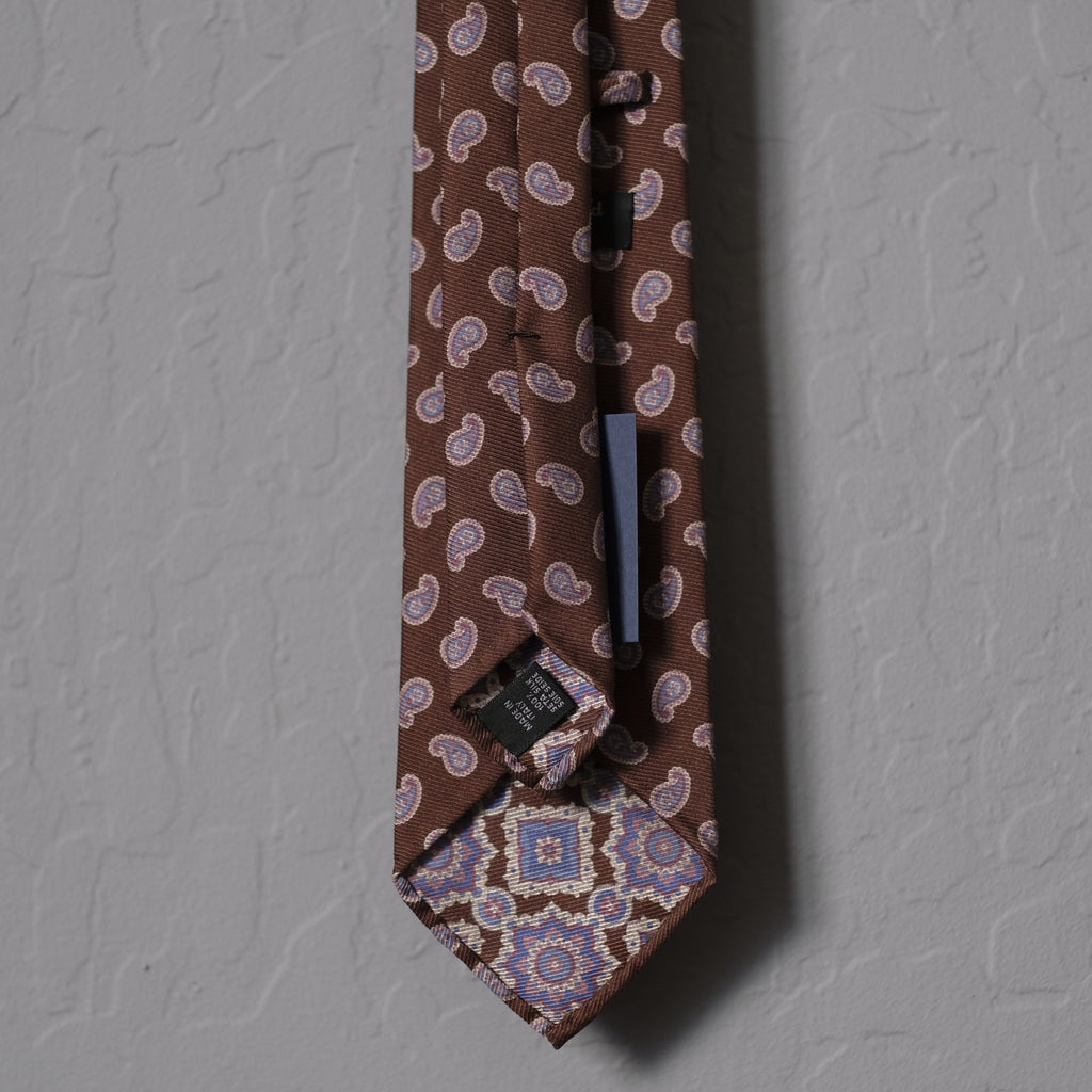 Sevenfold x Brogue - 3 Fold Untipped Tie