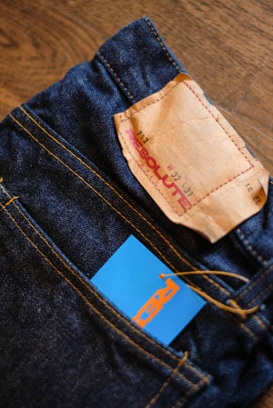 Resolute Slim Low Rise One Washed Denim - 712
