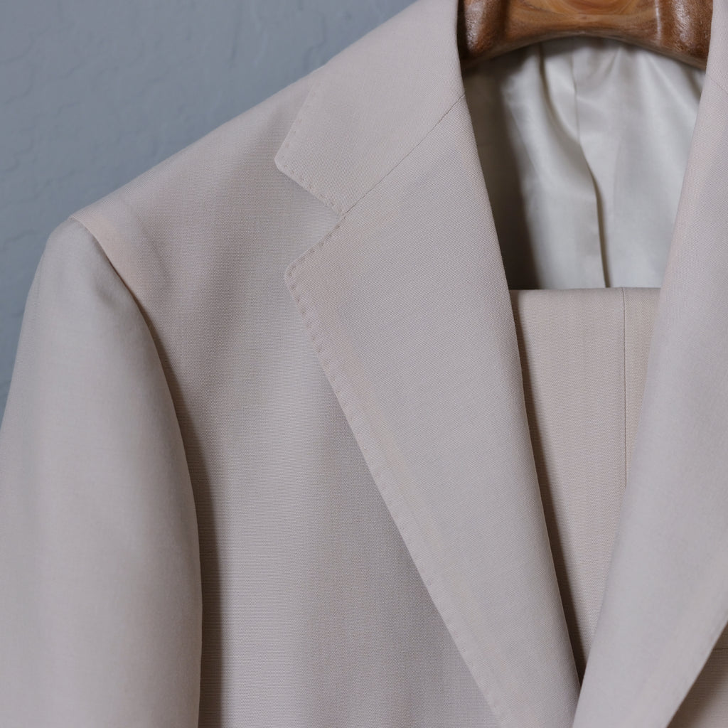 RING JACKET Beige Suit