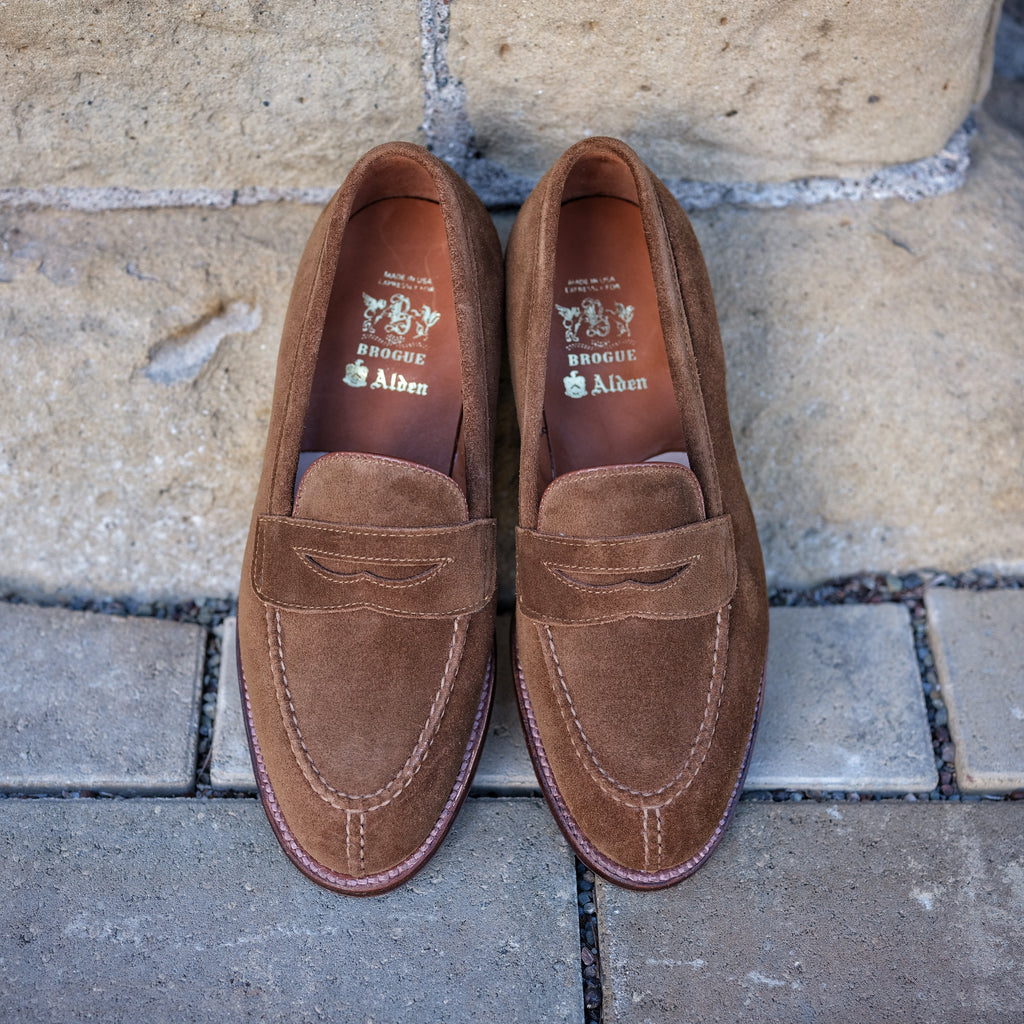 Alden x Brogue NST Loafer