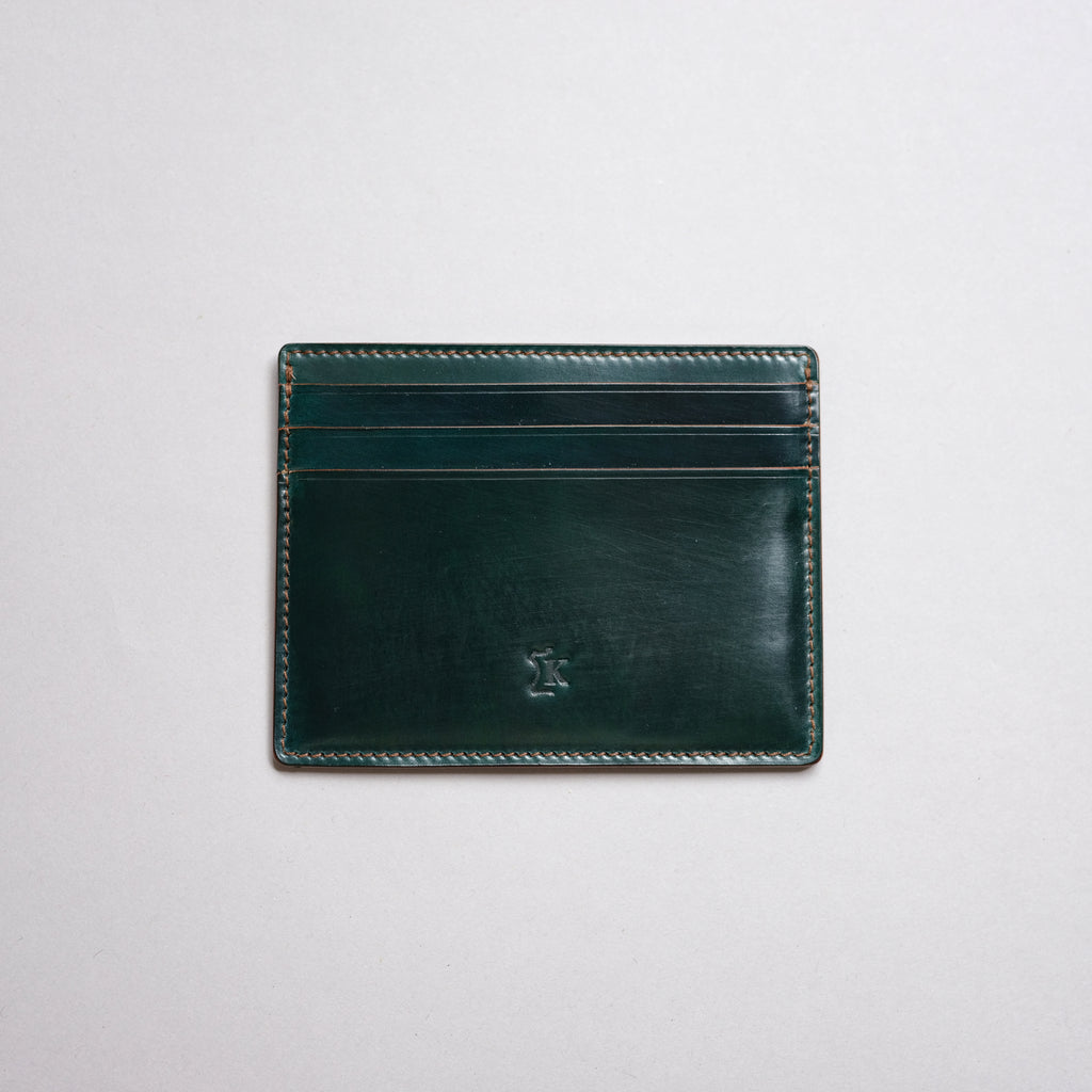 Kreis Green Shell Cordovan M3 Card Case