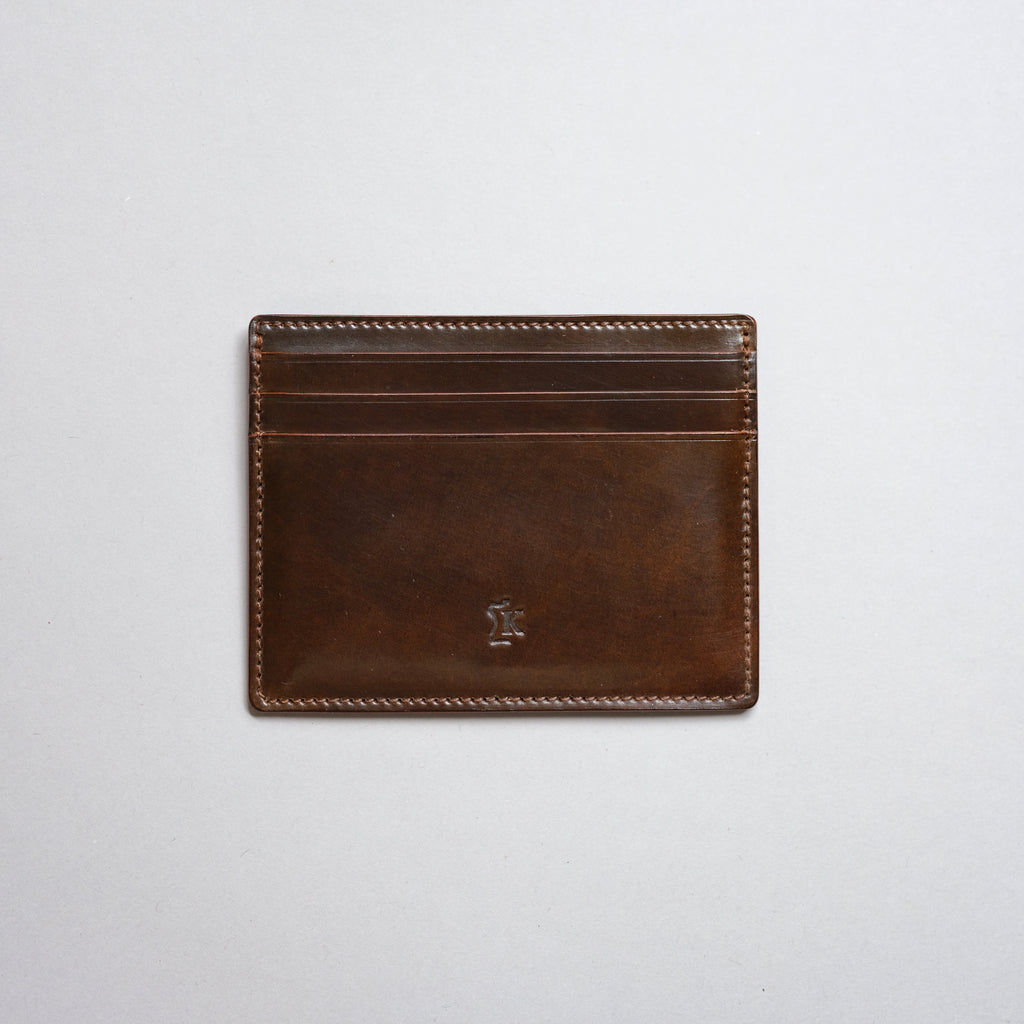 Kreis Ivywood Shell Cordovan M3 Card Case