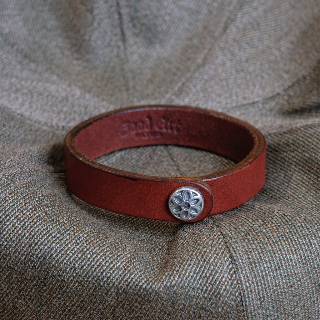 GOOD ART HLYWD Leather Snap Bracelet