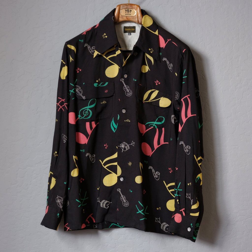Groovin High - Musical Note Vintage Style Shirt
