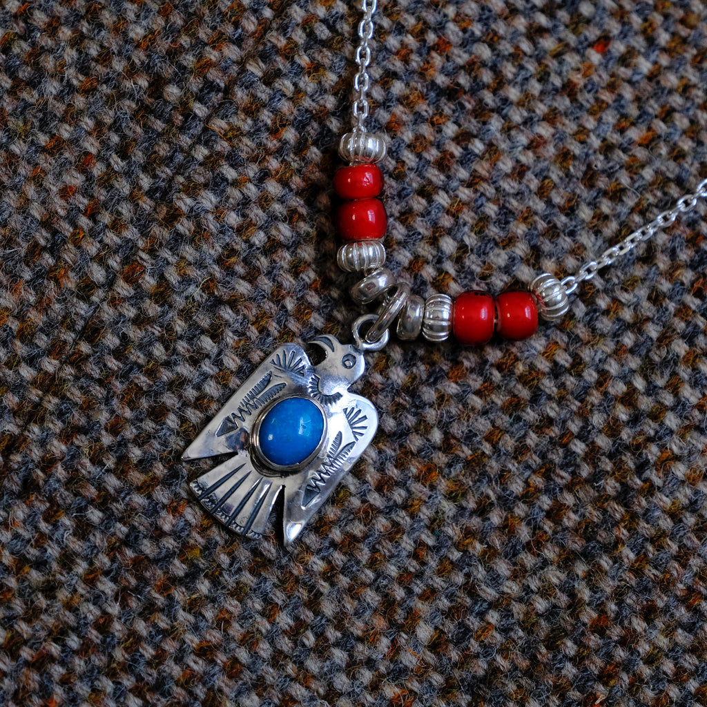 Larry Smith Thunderbird Necklace