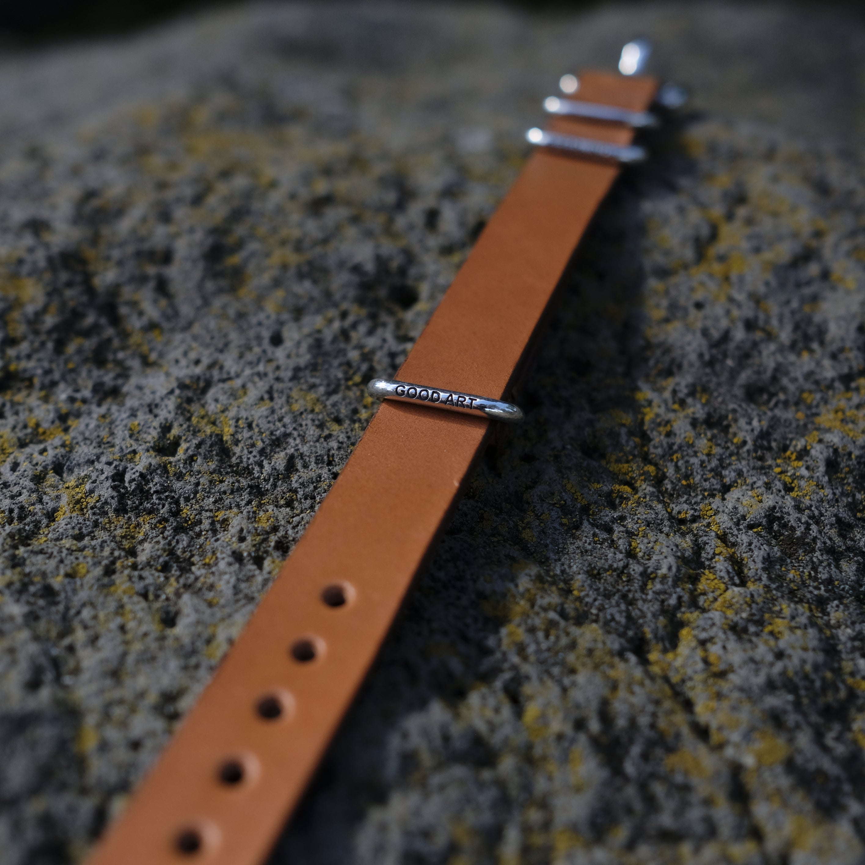 GOOD ART HLYWD Leather Watch Strap