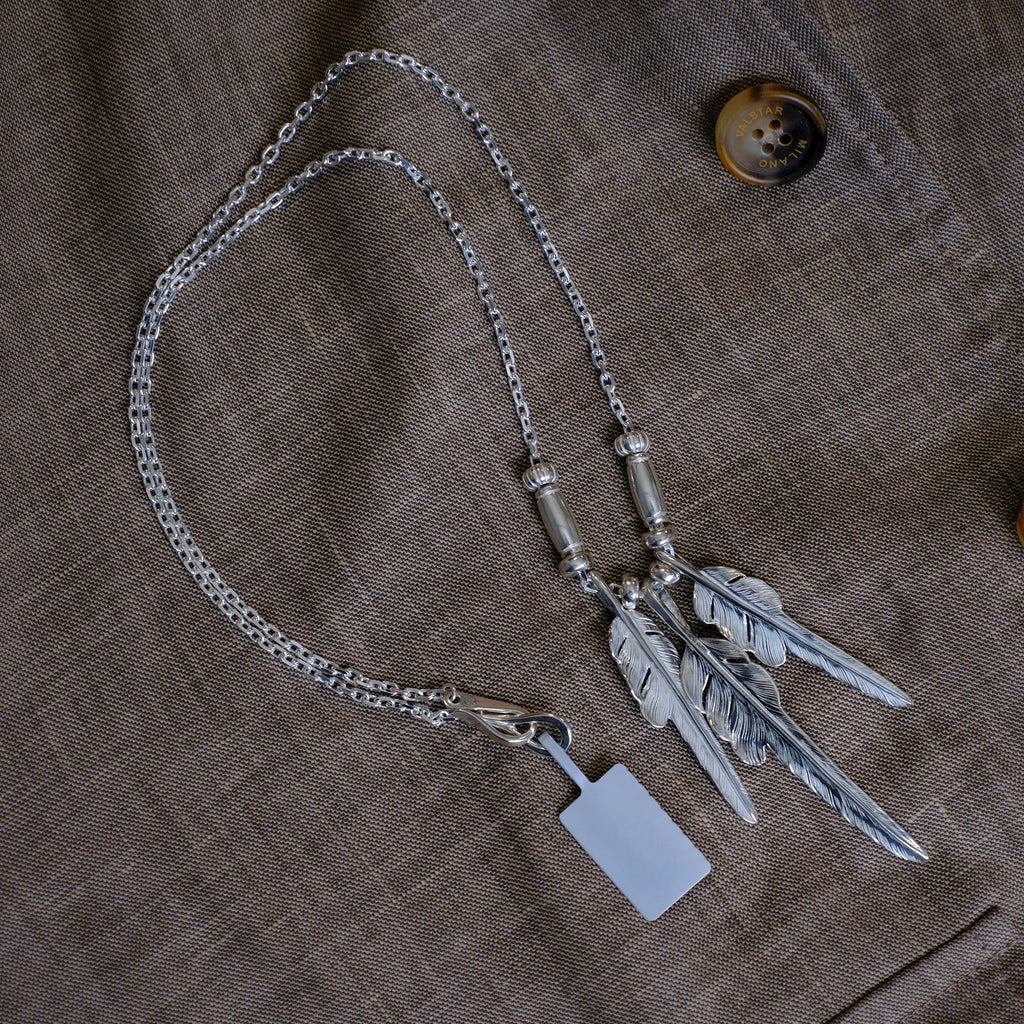 Larry Smith Kazekiri 3 - Feather Necklace