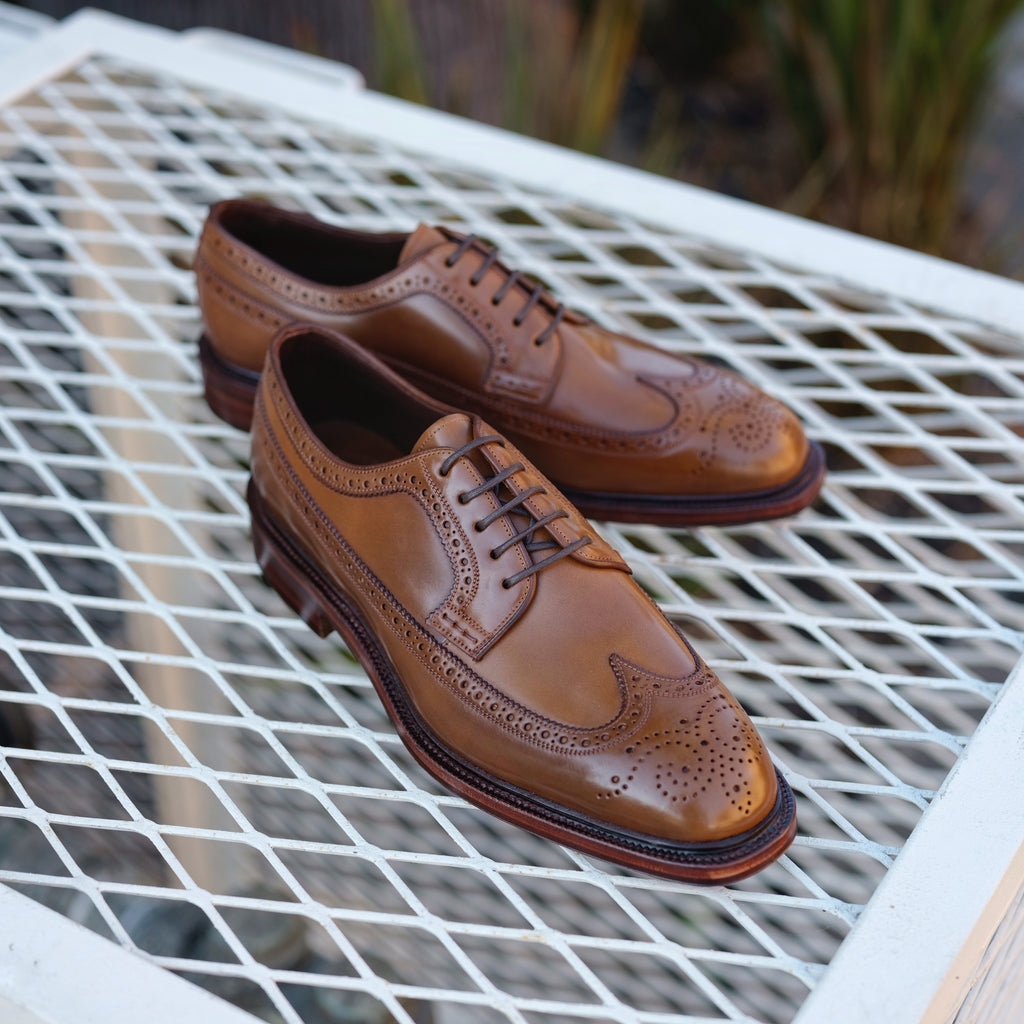Carmina x Brogue Long Wing Blucher