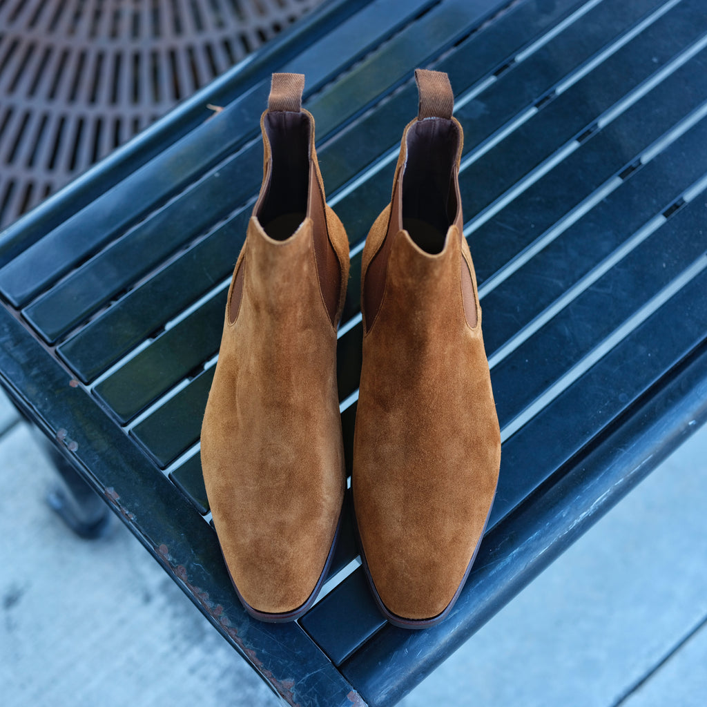 Carmina x Brogue Chelsea Boot